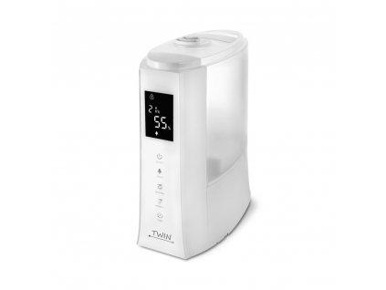 Ultrazvukový zvlhčovač vzduchu s ionizátorem a možností aromaterapie Airbi TWIN - bílý