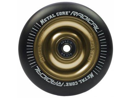 Metal Core Radical 100 mm kolečko černo zlaté