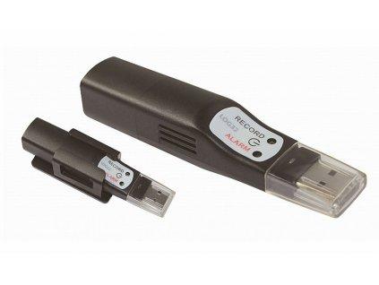 Datalogger pro měření teploty, vlhkosti a tlaku s PDF výstupem a připojením USB - TFA 31.1056 LOG32 THP