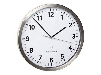 TFA 60.3523.02 - Nástěnné DCF hodiny  s tichým chodem