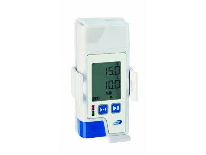 USB Datalogger s displejem pro měření teploty, vlhkosti s PDF výstupem - TFA 31.1058.02 LOG210