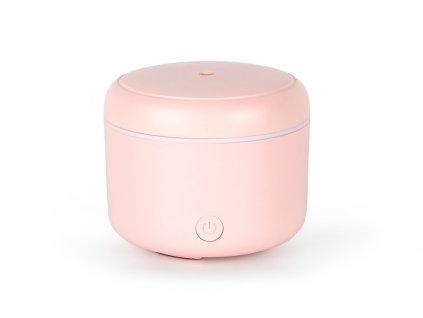 Aroma difuzér s možností osvětlení Airbi CANDY - růžová