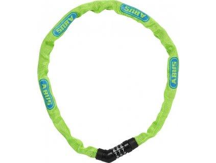 Abus 4804C/75 lime Steel-O-Chain