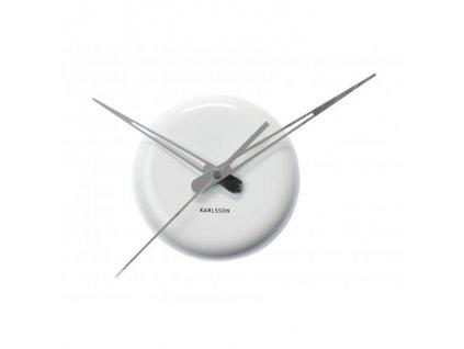 Designové nástěnné hodiny 5452WH Karlsson 30cm