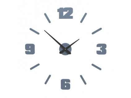 Designové hodiny 10-305 CalleaDesign Michelangelo M 64cm (více barevných verzí) Barva grafitová (tmavě šedá)-3 - RAL9007