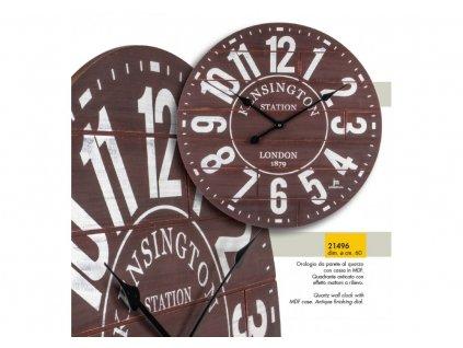 Designové nástěnné hodiny 21496 Lowell 60cm