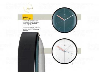Designové nástěnné hodiny 14962G Lowell 25cm