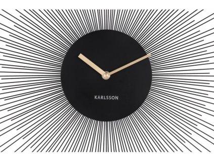 Designové nástěnné hodiny 5817BK Karlsson 45cm
