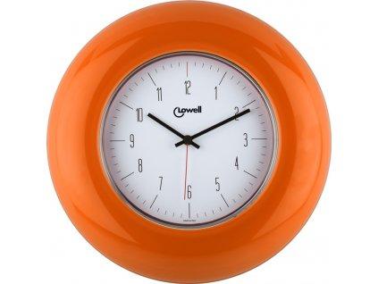 Designové nástěnné hodiny 03300OR Lowell 33cm