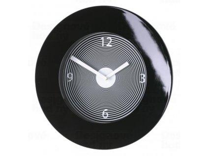 Designové hodiny Diamantini a Domeniconi 418R Target black 40cm