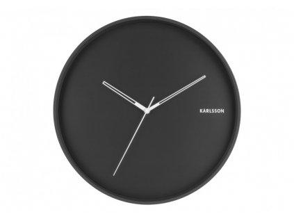 Designové nástěnné hodiny 5807BK Karlsson 40cm