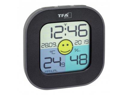Digitální teploměr s vlhkoměrem TFA 30.5050.01 - černý