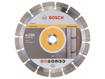 Diamantový dělicí kotouč Expert for Universal - 230 x 22,23 x 2,4 x 12 mm BOSCH