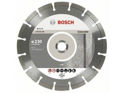 Diamantový dělicí kotouč Standard for Concrete Sada 10ks - 230 x 22,23 x 2,3 x 10 mm BOSCH