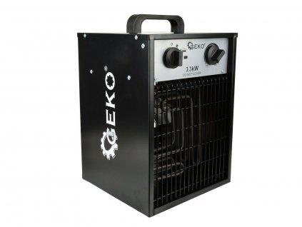 Elektrický ohřívač vzduchu s ventilátorem 3,3kW GEKO