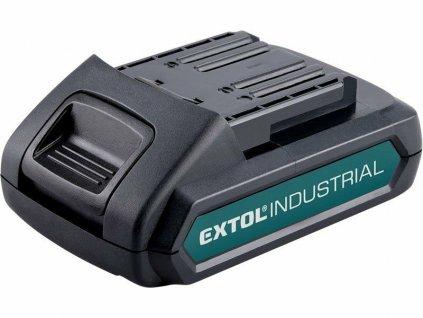 Baterie akumulátorová 18V, Li-ion, 2000mAh EXTOL-INDUSTRIAL