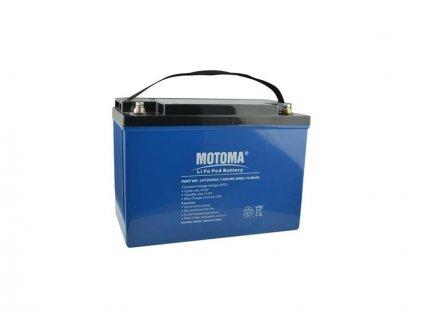 Baterie LiFePO4 12V/80Ah MOTOMA pro soláry