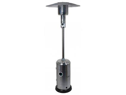Plynový zářič SILVER s regulátorem CATTARA