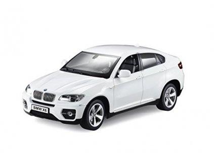 BMW X6 - bílá, auto na dálkové ovládání 1/14