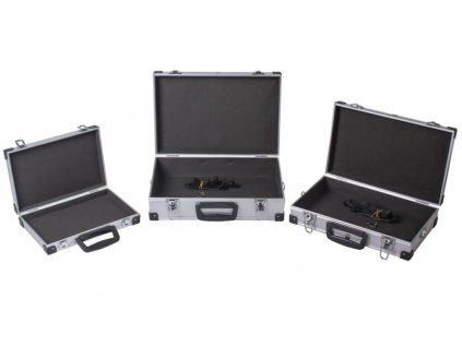 Sada hliníkových kufrů 3v1, 430 x 290 x 120 - AH14021