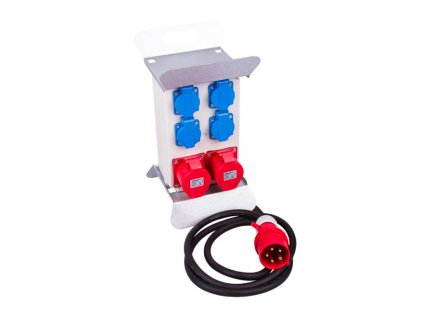 Mobilní rozvodná skříň 16A, 6 výstupů - FNP8401