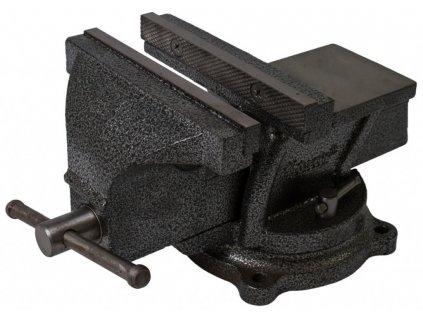 Otočný dílenský svěrák 200 mm, 18 kg - HT300105
