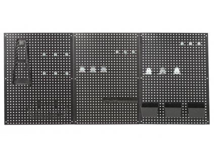 Děrované desky s příslušenstvím, 27 dílů - JJ001190 | AHProfi