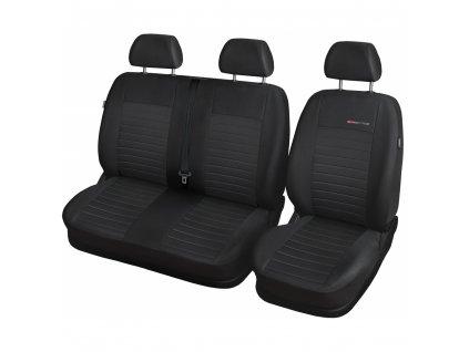 Autopotahy Renault Master IV, 3 místa, dělené dvojopěradlo a sedadlo, od 2010, prolis