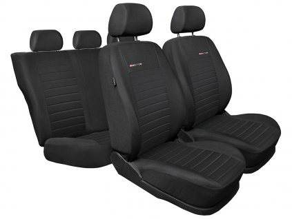 Autopotahy Seat Ibiza IV, DĚLENÁ, od r. 2008, prolis