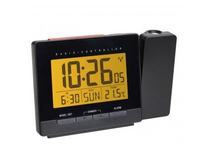 TFA 60.5016.01 - Rádiem řízený digitální budík s projekcí, zobrazením vnitřní teploty a podsvětleným displejem