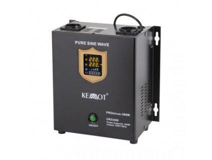 Zdroj záložní KEMOT PROsinus 300W 12V nástěnný