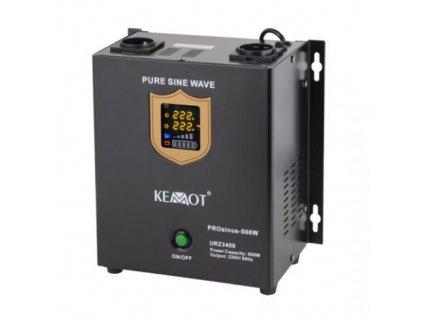 Zdroj záložní KEMOT PROsinus 500W 12V nástěnný