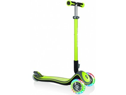 Globber Koloběžka Elite Deluxe Lights Lime Green