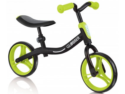 Globber odrážedlo GO BIKE - Black / Lime green
