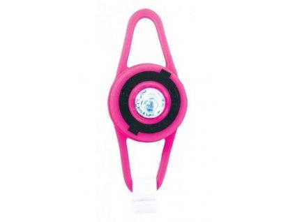 Globber LED světélko - neon pink