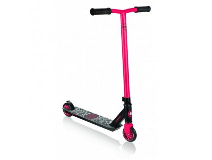 Globber Freestyle Koloběžka STUNT SCOOTER GS 360 Black / Red
