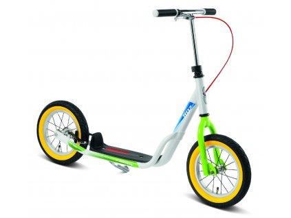 PUKY Koloběžka Scooter R 07 L bílá / kiwi