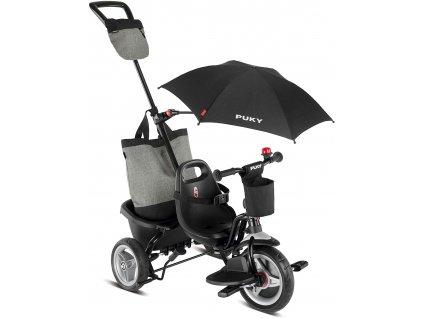 PUKY Dětská tříkolka CEET Comfort Black
