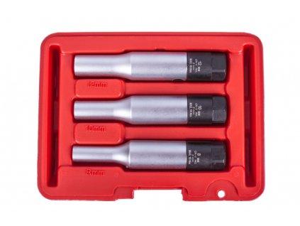"""Sada nástrčných klíčů na žhavící svíčky 3/8"""", 3 ks - H9016"""