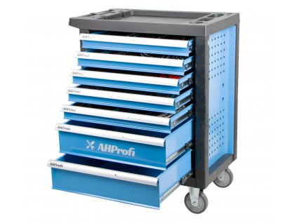 Pojízdná skříňka Economy s nářadím 7 zásuvek, 272 dílů - AH12272A