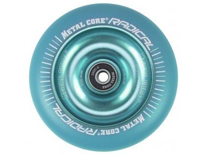 Kolečko Metal Core Radical 100mm blue/blue