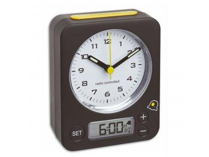 TFA 60.1511.01.07 COMBO - analogový budík s rádiově řízeným časem