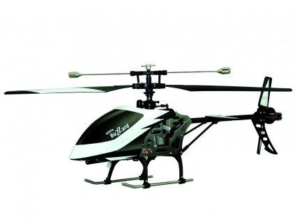 BUZZARD jednorotorový vrtulník se stabilizací, 4ch, RTF, 2,4 GHz, bílý