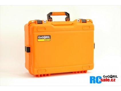 G36 profi set kufr G36+UNI výstelkou oranžový