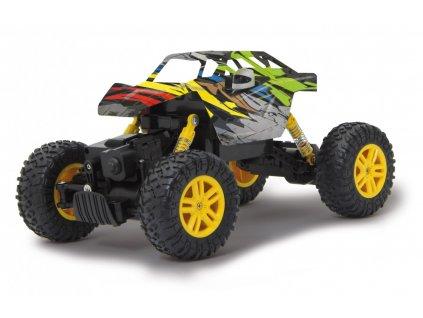 Crawler Hillriser - žlutý 1:18 4WD
