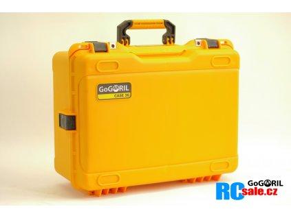 G36 profi set kufr G36+UNI výstelkou žlutý