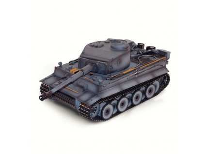 Tank TIGER 1 RANNÁ VERZE 2,4Ghz 1:16 IR, ZVUKOVÝ A KOUŘOVÝ MODUL, KOVOVÁ VANA