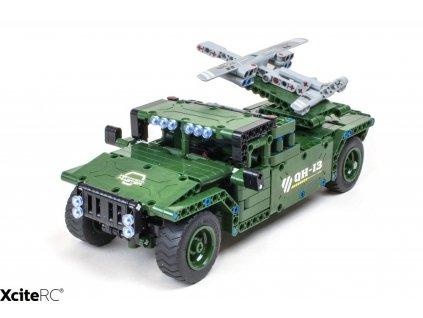 RC vojenský transportér TEKNOTOYS ACTIVE BRICKS