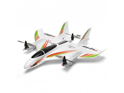 X450 Aviator 3D parallel Aerobatic VTOL s vertikálním startem