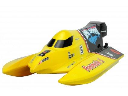 MAD SHARK závodní katamaran 2,4 Ghz RTR 43 cm, proporcionální